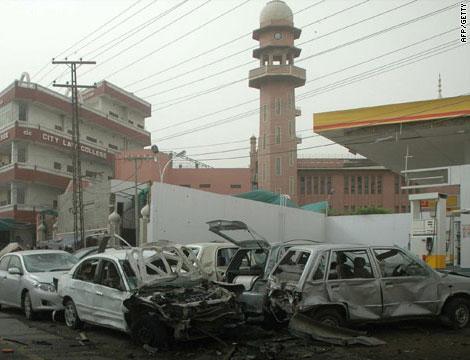 Mosquée de la communauté Ahmadiyya à Lahore