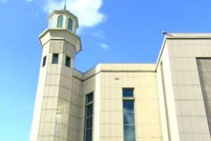 Mosquée Baitul Futuh Londres - plus grande mosquée d'Europe de l'Ouest