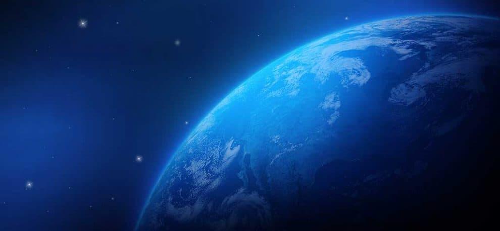 La terre vue du ciel