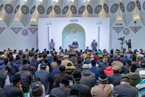 La Mosquée Moubarak.
