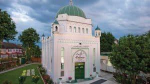 La mosquée Fazl - la première mosquée de Londres.